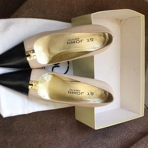 Saint John Trinity Sandstone High heels